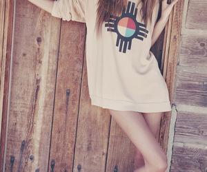 girl, model, and long hair image