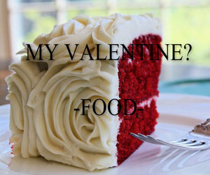 food, valentine, and love image