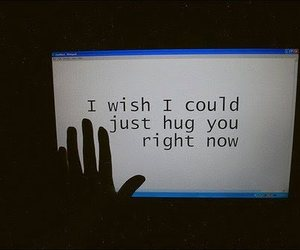 hug, quotes, and text image