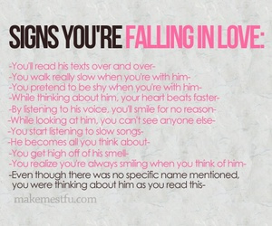 love, sign, and quotes image