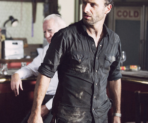 the walking dead and andrew lincoln image