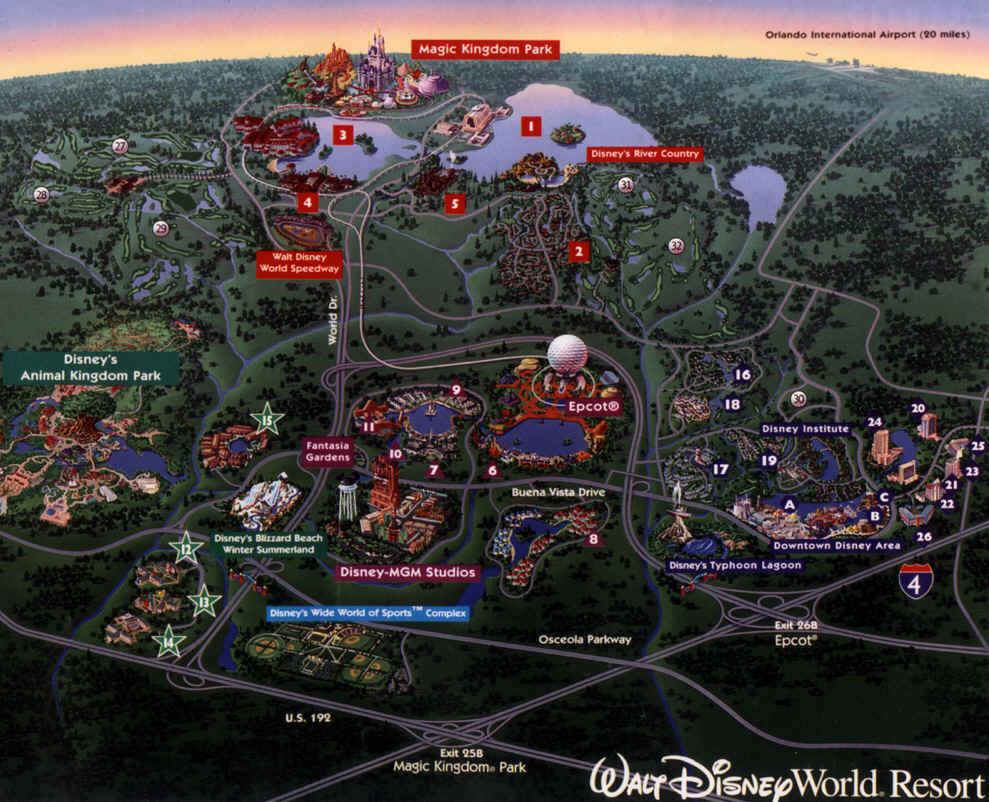 walt disney world resort map - Google Search on We Heart It