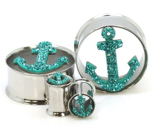 anchor, cool, and jewelry image