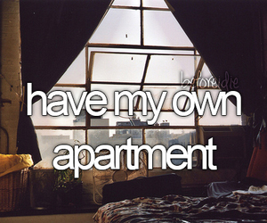 apartment, before i die, and Dream image