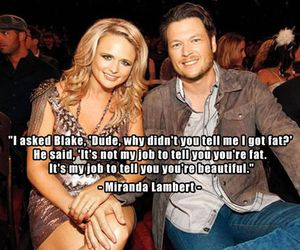 beautiful, couple, and Miranda Lambert image
