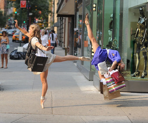 bale, dance, and shopping image