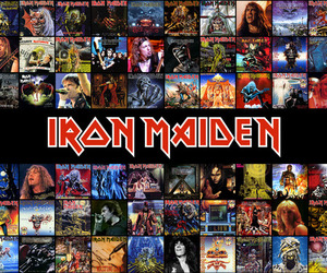 album, band, and iron maiden image