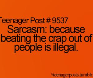 lol, sarcasm, and teenager post image