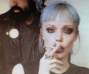 cigarette, Crystal Castles, and grunge image