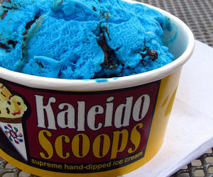 blue and ice cream image