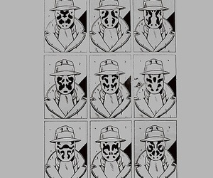 rorschach and watchmen image