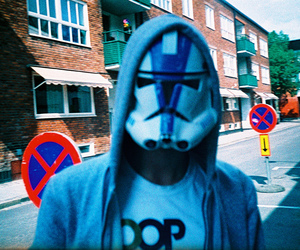 analogue, lomography, and stormtrooper image