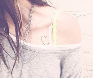 heart, tattoo, and cute image