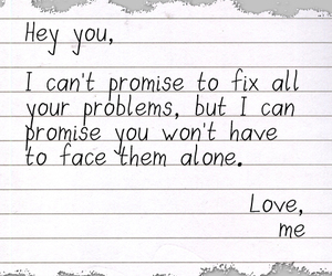love, problems, and promise image