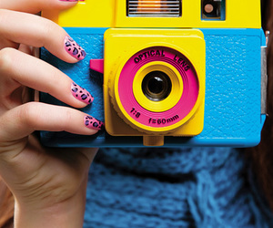 camera, nails, and photo image