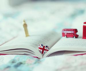 book, london, and Big Ben image