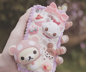 case, kawaii, and decoden image
