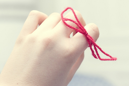 hand, bow, and fingers image