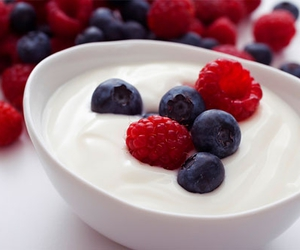 fruit, yogurt, and food image