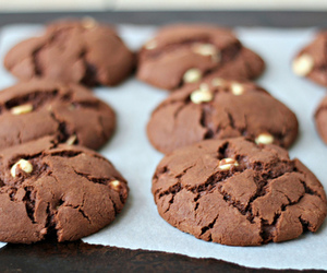 food, Cookies, and chocolate image