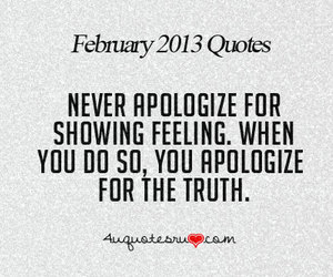 quote, apologize, and feeling image