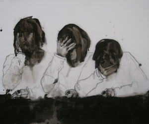 art, pale, and sad image