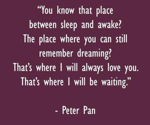 quote and peter pan image