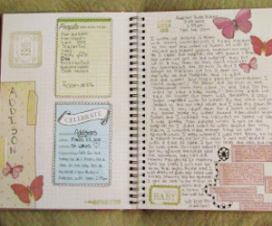 Collage, journal, and journaling image