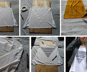clothes, diy, and top image