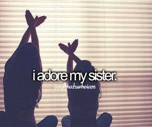 sisters, love, and adore image