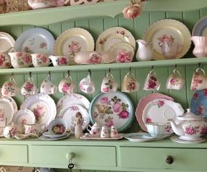cups vintage romantic image