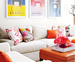 chanel, home, and interior image