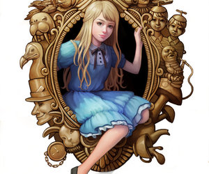 alice and mirror image