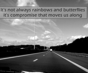 butterflies, maroon 5, and rainbows image