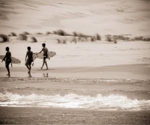 beach, praia, and nature image
