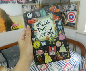 bed, wreck this journal, and boo image