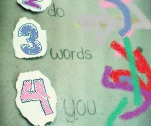 love and words image