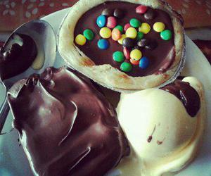 chocolate, ice cream, and delicious image