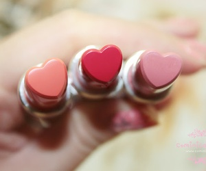 heart, pretty, and lipstick image