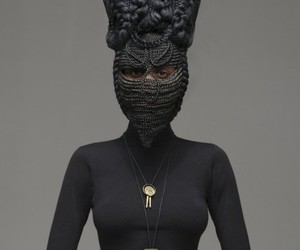 African, black, and mask image