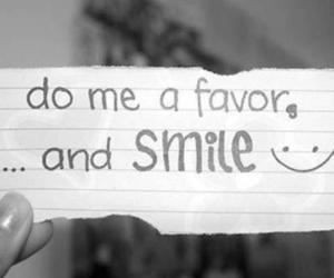 smile, quotes, and favor image