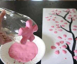 paint, pink, and pretty image