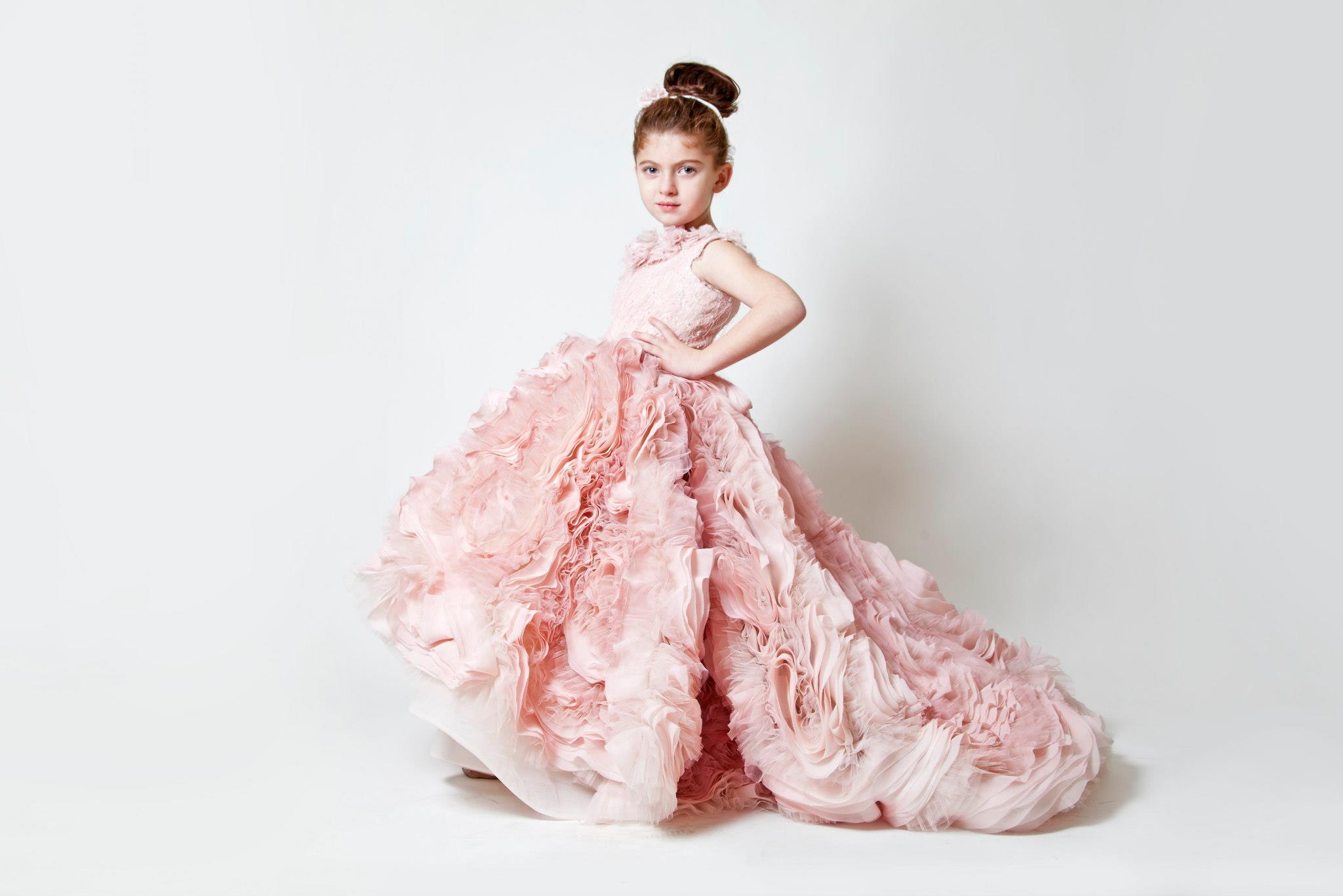 Couture Flower Girl Dresses | Burnett\'s Boards - Daily Wedding ...