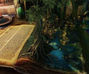 book, fantasy, and magic image