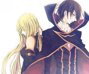 c.c, anime, and code geass image