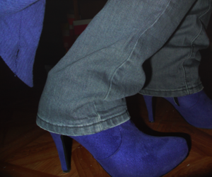 jeans, night, and purple image