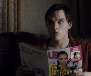 nicholas hoult, r, and warm bodies image