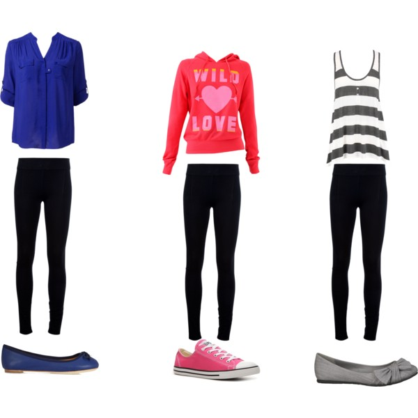 To acquire Wear to what with black leggings polyvore pictures trends