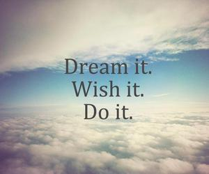 blue, do it, and Dream image