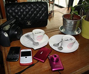 blackberry, chanel, and desserts image